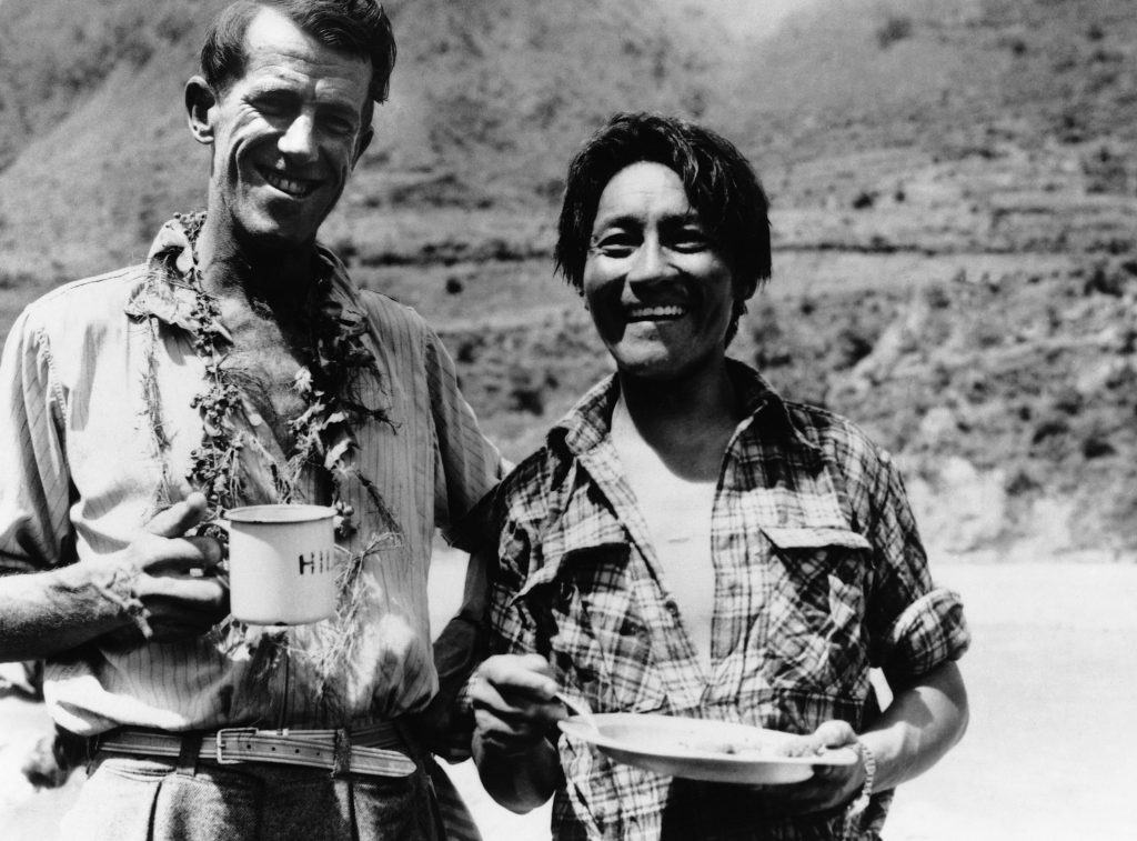 best mountaneeing guides in Nepal Sir Edmund Hillary and Tenzing Norgay Flickr Creative Commons image by Tullio Saba