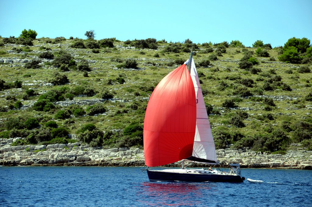 Croatia sailing holidays Why the Croatian coast is made to sail flickr image by michael pollak