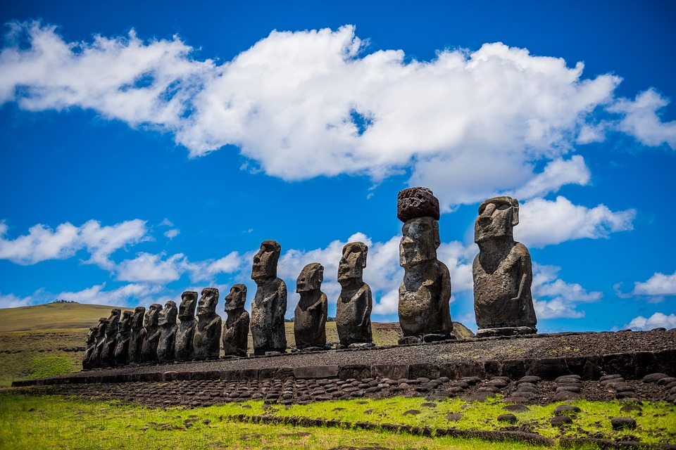 Easter Island one of the best South America adventure travel destinations Pixabay royalty free image
