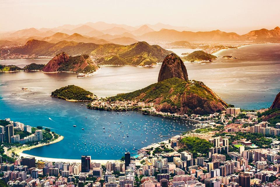 Rio de Janeiro one of the best South America adventure travel destinations Pixabay royalty free image