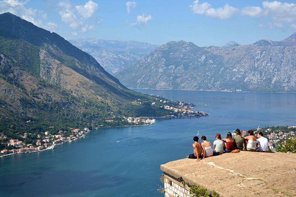 Singles activity holidays in Europe Kotor, Montenegro one of the best places to adventure and party Pixabay royalty free image
