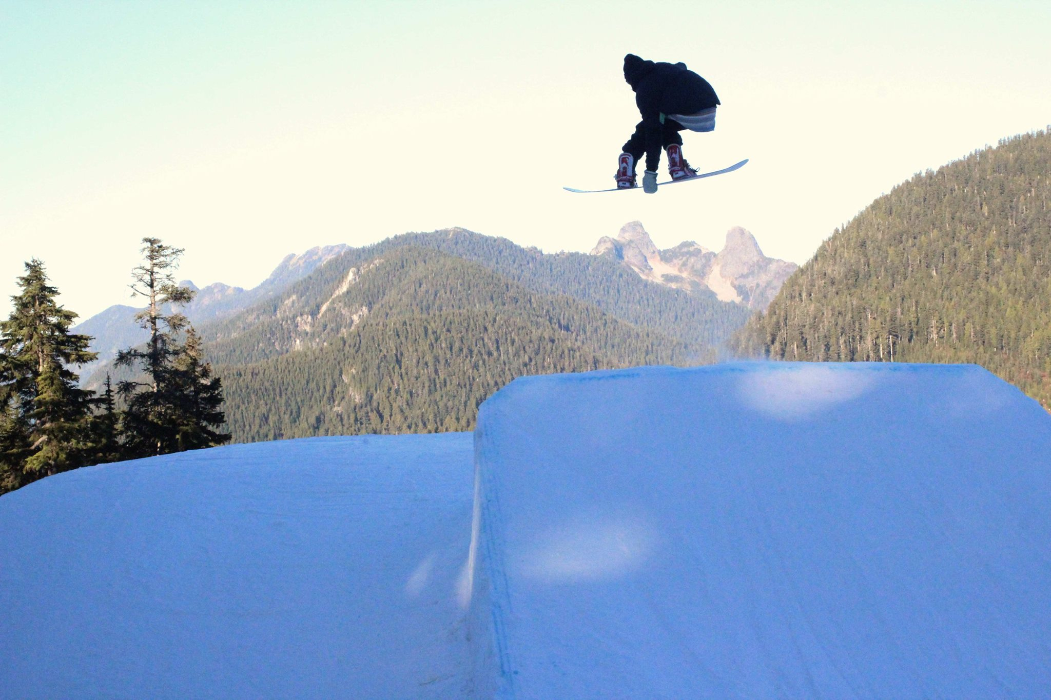 Vancouver best snowboard city break Image courtesy of Cypress Mountain Facebook