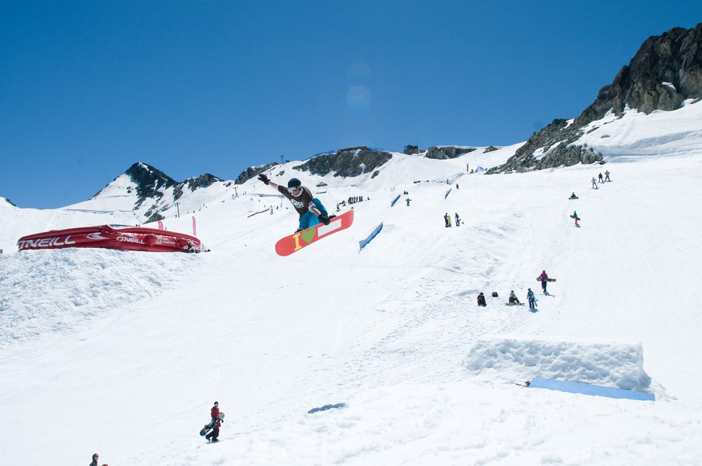 canada best skiing holidays - Flickr cc image by The Camp of Champions Snowboard & Ski Summer Camp