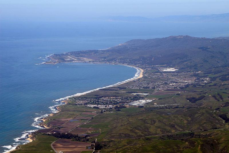 Half Moon Bay San Mateo County California Wikimedia CC image by Doc Searls