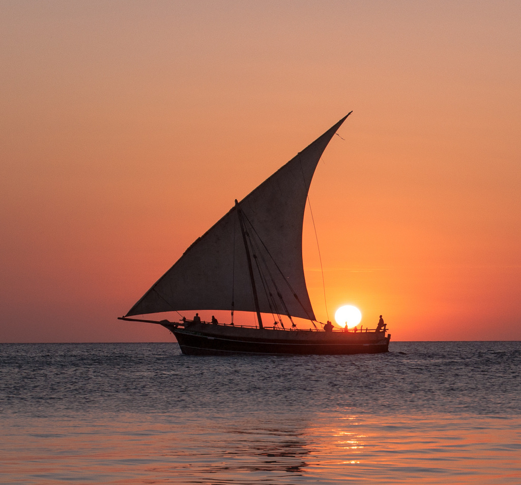 Sailing the Indian Ocean off Tanzania Adventures and destinations Flickr CC image by Drouyn