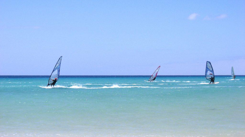 Best summer windsurfing in Europe Flickr Image by 169Clue in Fuerteventura