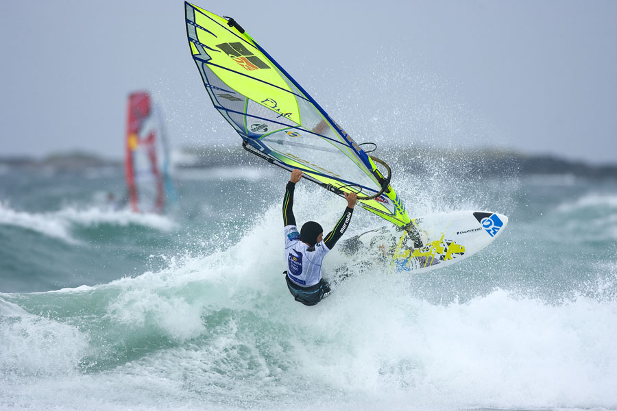 Best winter windsurfing in Europe Image of Kauli Seadi by PWA World Tour in Tiree