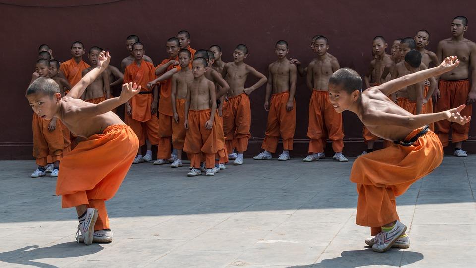 Learning martial arts in China shaolin kung fu pixabay royalty free image