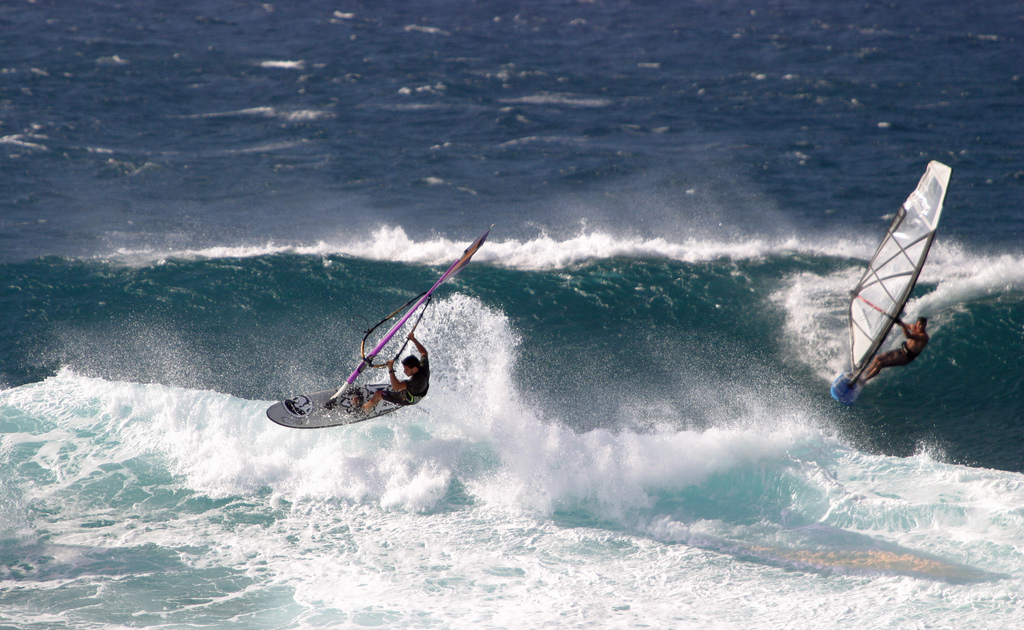 Best island adventures: Activities on Tripadvisor's top 10 islands Flickr image of Maui windsurfing in Hawaii by Mauishooter