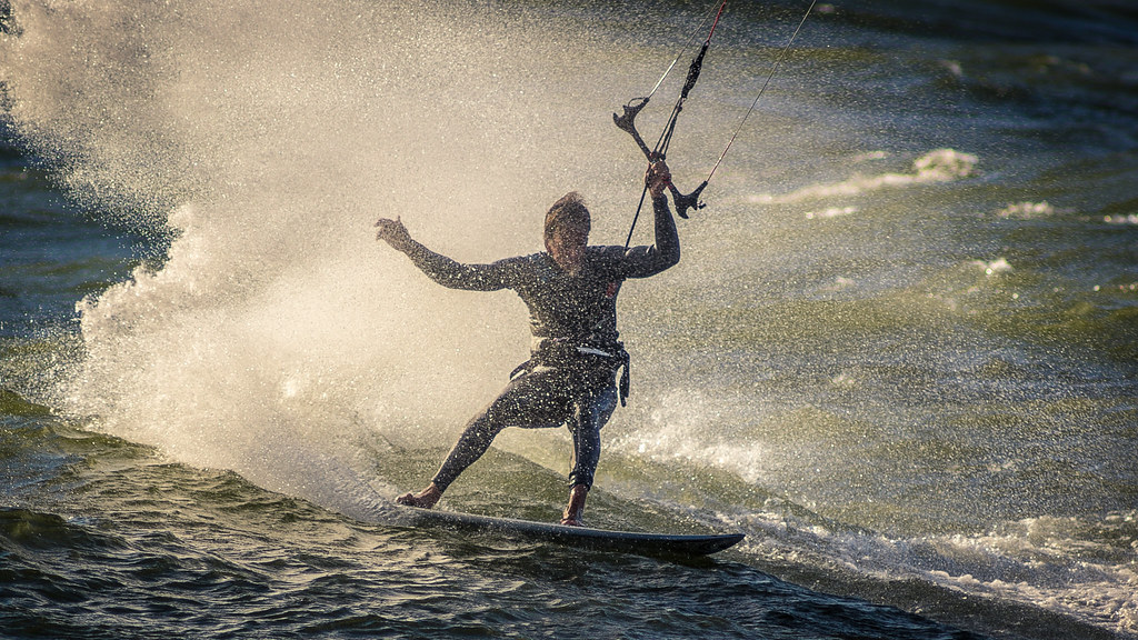Strapless kitesurfing I thought kitesurfers were strapped in Flickr CC image by Tucker Sherman