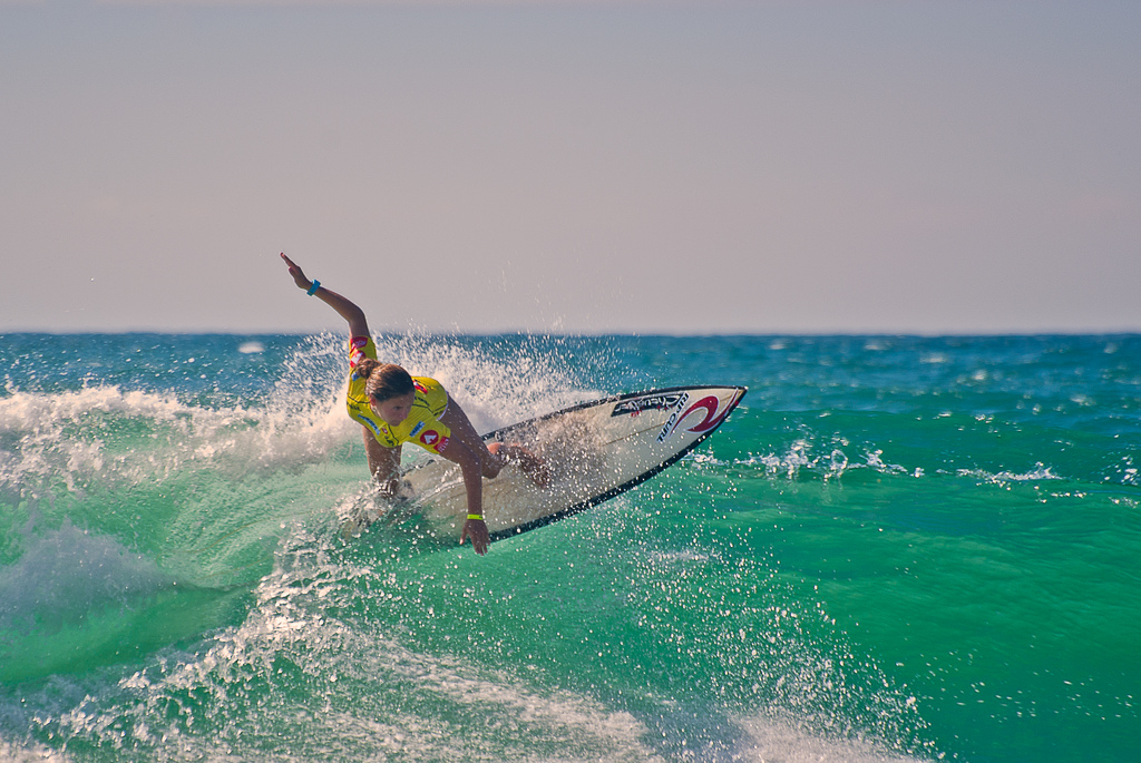 Surfing holidays in France Lacanau one of the best French surf spots Flickr CC image by Stf.O