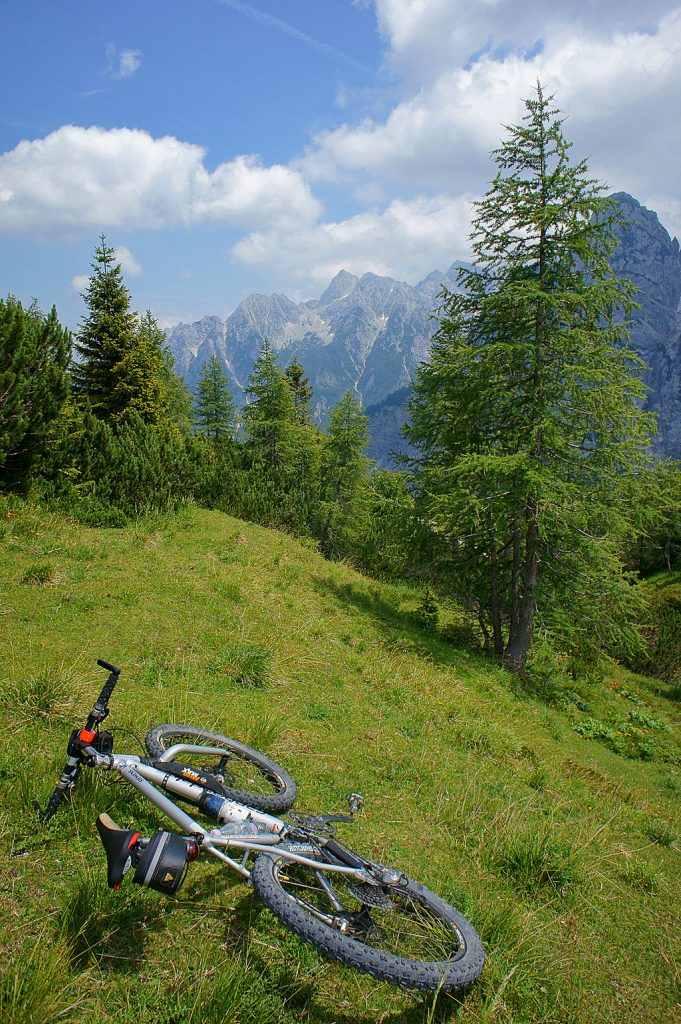 Mountain biking during slovenian adventure holidays - CC Wikimedia image by Petar Milosevic