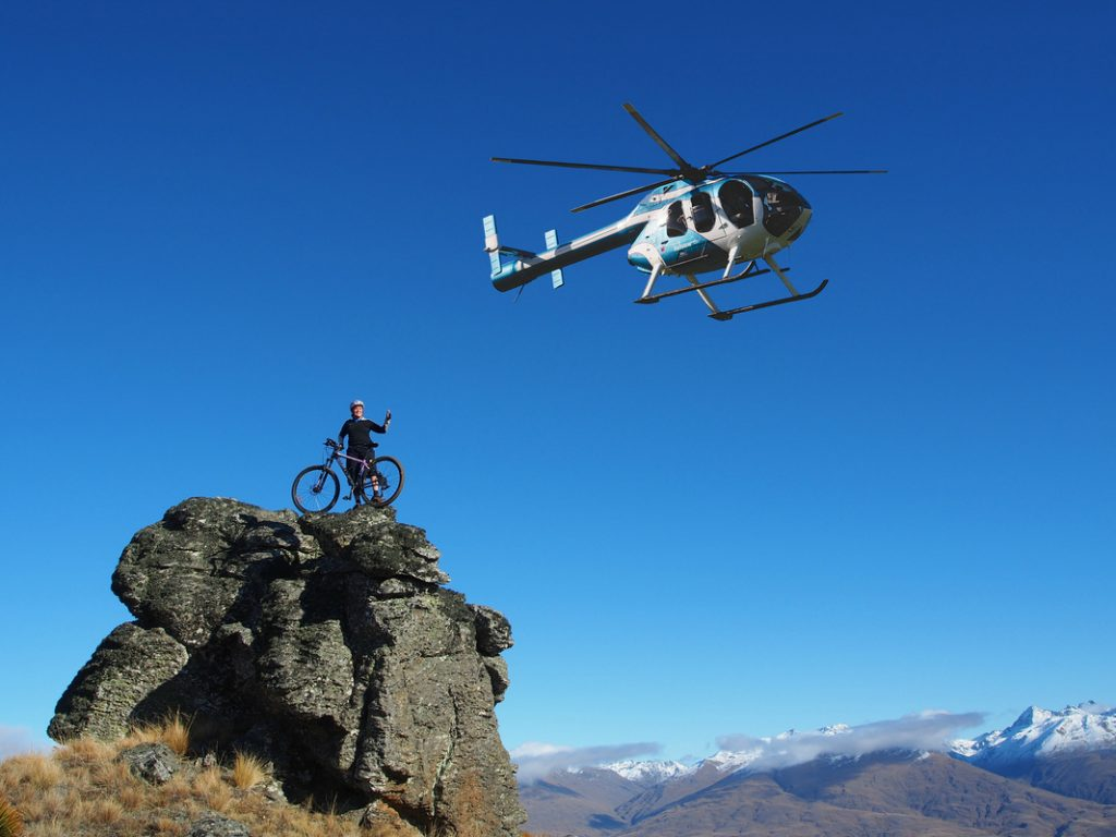 Heli biking in New Zealand The best MTB adventure ever Image courtesy of Heliview.co.nz