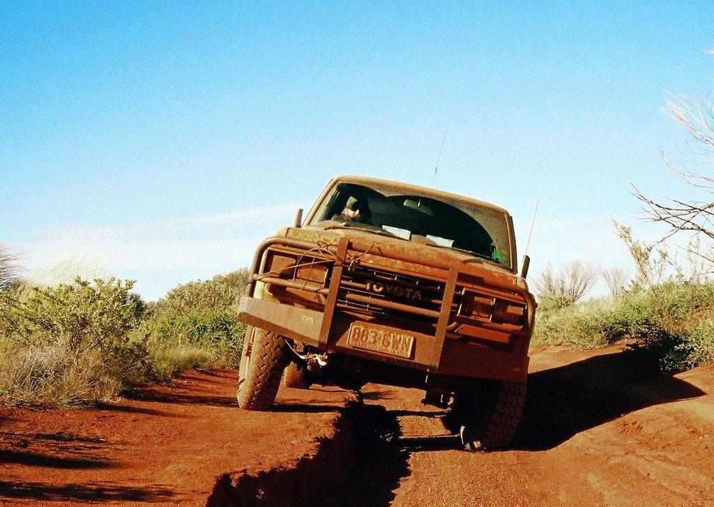 Overland adventures Gunbarrel highway, Australia one of the 3 loneliest roads in the world Flickr CC image by NeilsPhotography