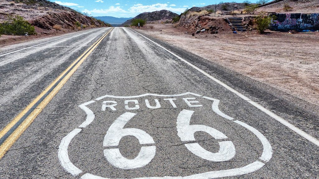 Route 66 USA one of the best road trips for adventure lovers looking for overland activity holidays Flickr CC image by foto_graffiti