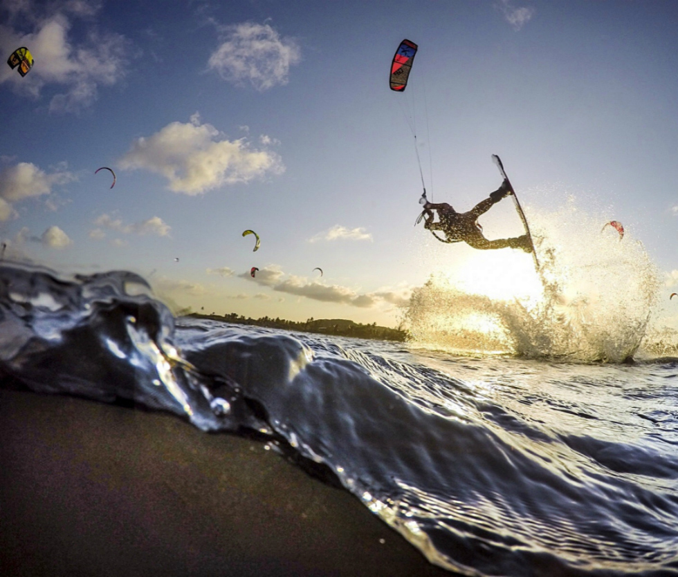 Brazilian kiteboarding holidays in Cumbuco one of the 14 Best Brazil kitesurf spots image by FreerideKitesurf