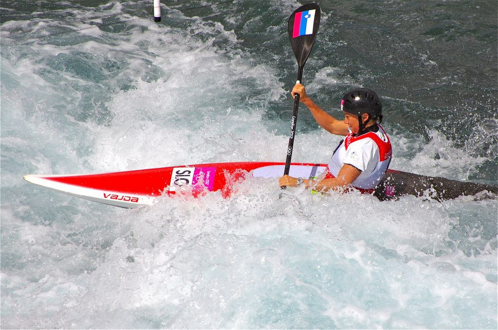 guide to socca river kayaking holidays in Slovenia - image by CC Flikr David Merrett