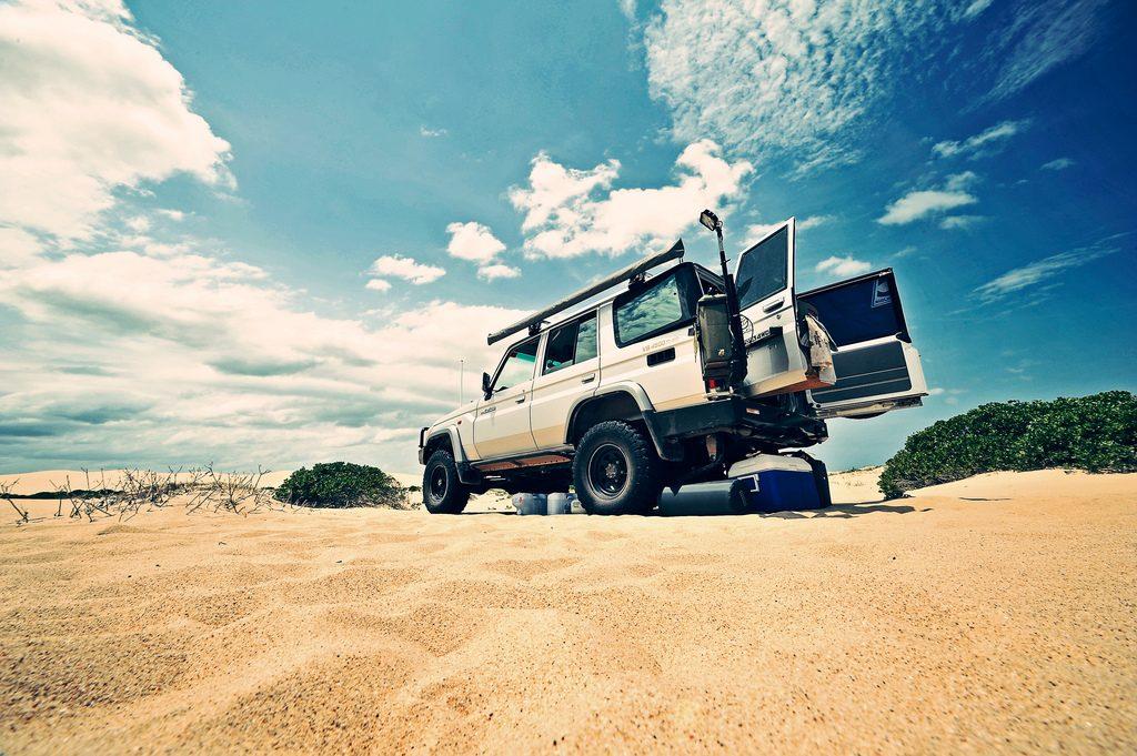 Australian 4x4 adventures Tips for off-road driving in Australia Flickr CC image by JohnONolan