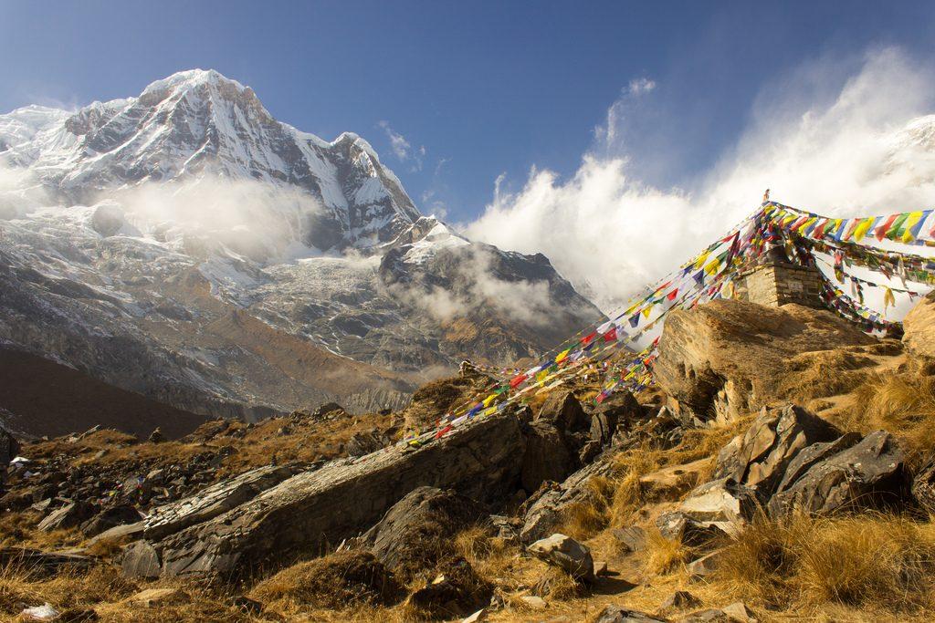 Why trek Annapurna vs Everest Base Camp in Nepal? Flickr CC image of Annapurna by Matt-Zimmerman