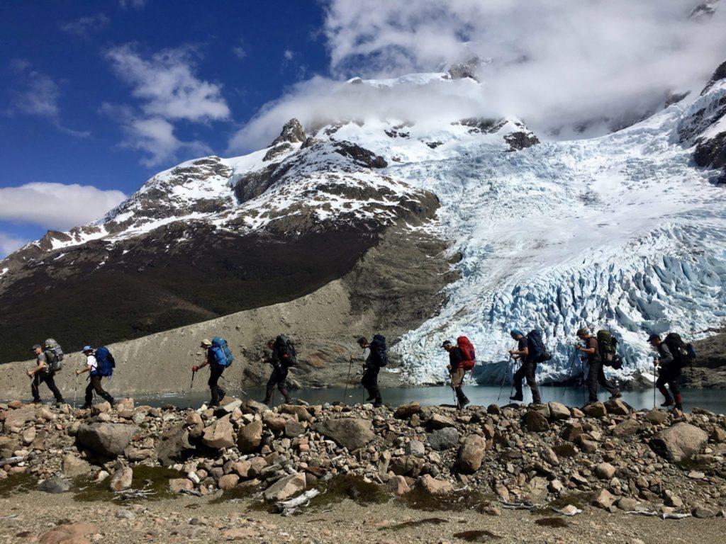best unknown treks Glaciers national park in Patagonia by Serac Expediciones