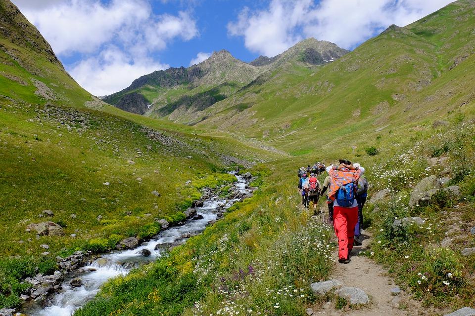 trekking in the Kackar mountains in Turkey Pixabay royalty free image