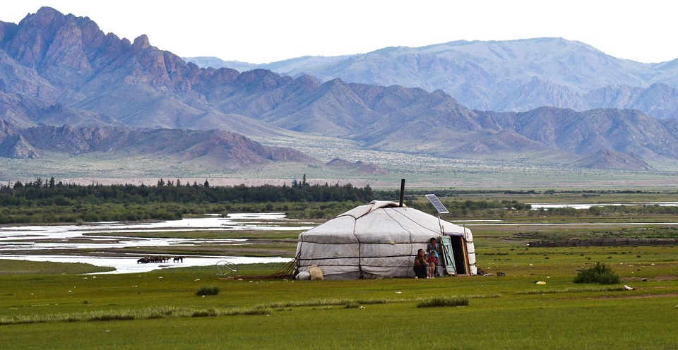 Ultimate overlanding adventure Overland from London to Sydney Pixabay royalty free image of Mongolia