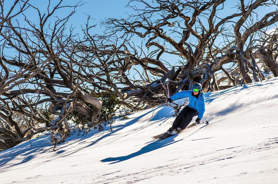Victoria skiing holidays in Australia Mt Stirling one of the best Ski resorts near Melbourne Facebook image from Mt Stirling