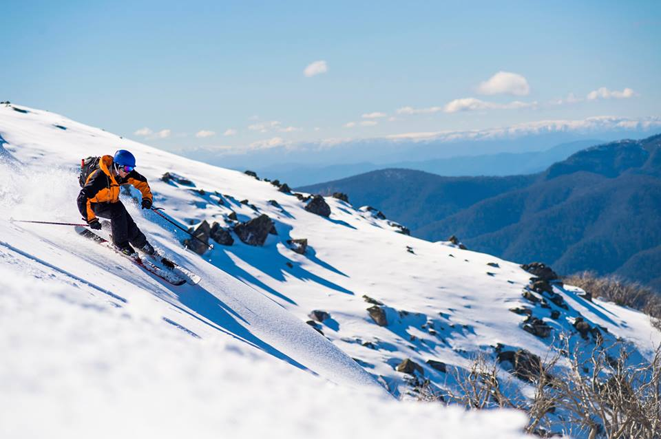 Victoria skiing holidays in Australia Mt Stirling one of the best Ski resorts near Melbourne. Facebook image from Mt Stirling