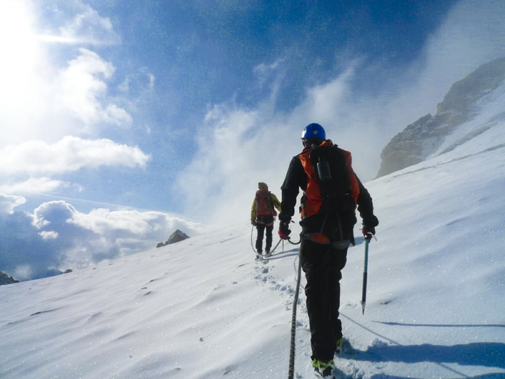 Mountaineering one of 15 best summer mountain activities in the Southern French Alps image courtesy of Undiscovered Mountains