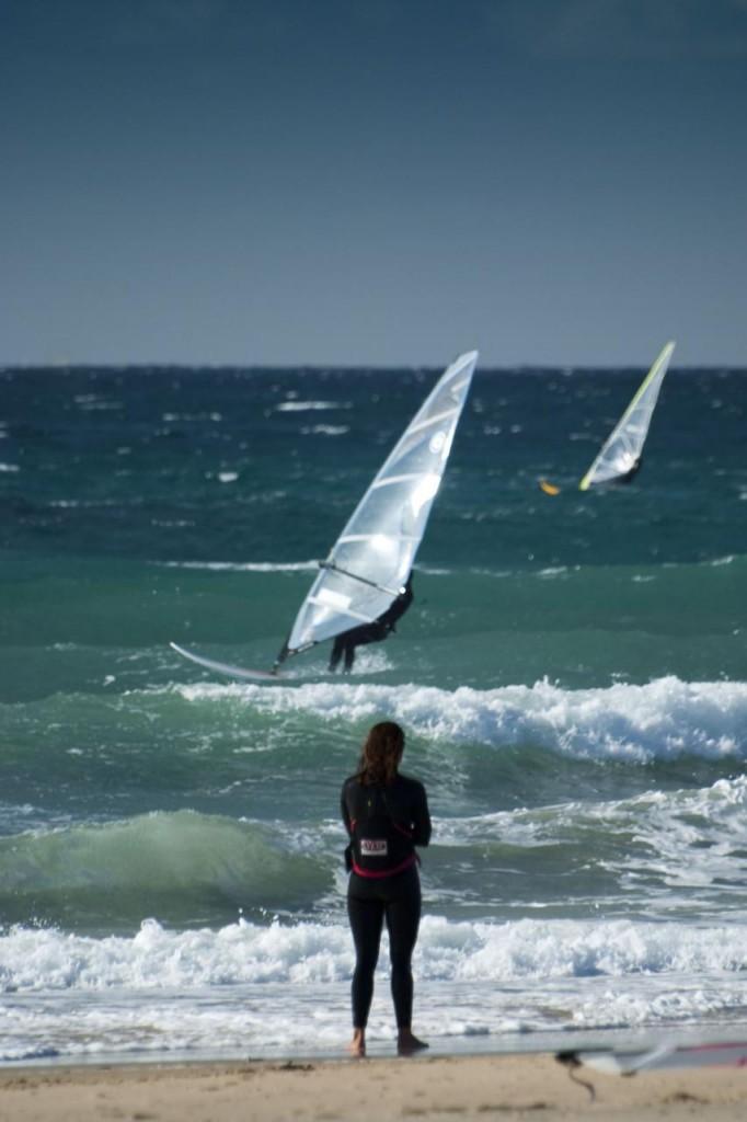 Best winter windsurfing in Europe Flickr image by by luis jimenez