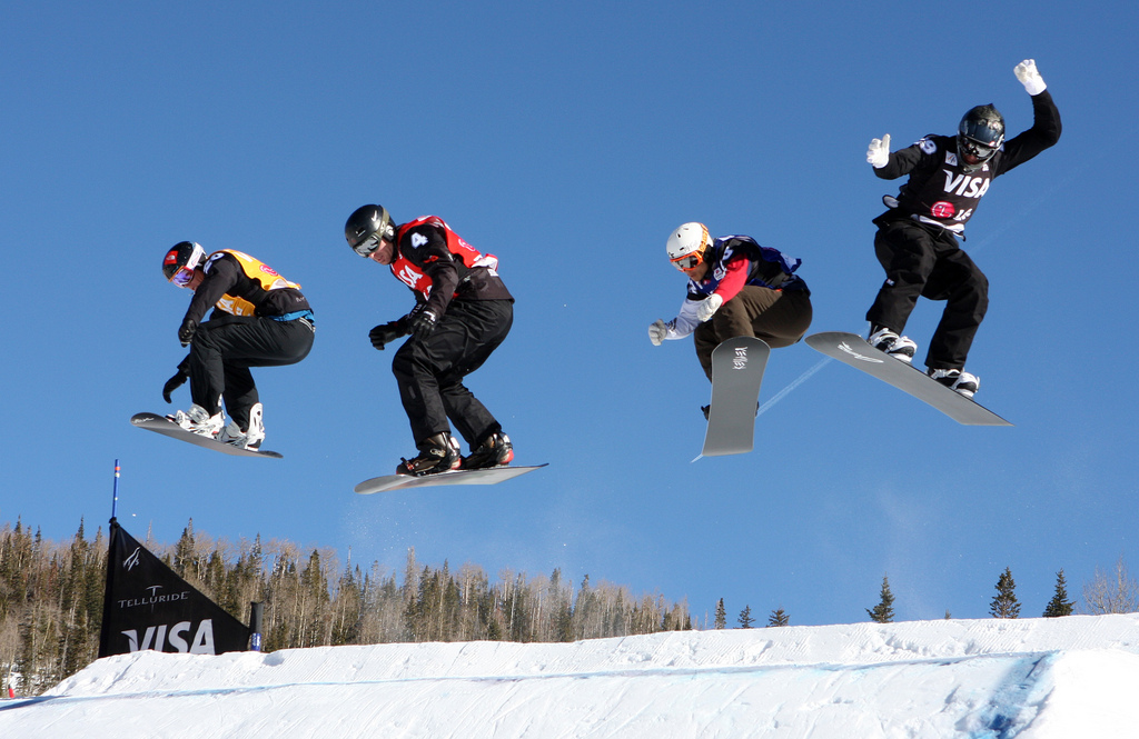 13 best USA snowboarding destinations: Snowboard US style! Flickr image by LGEPR