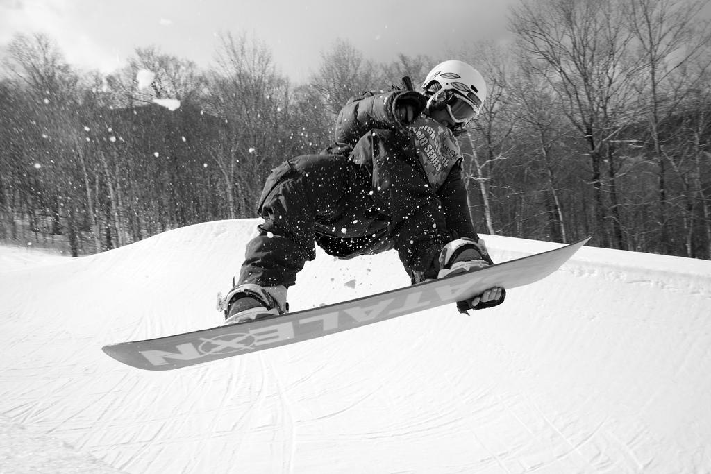13 best USA snowboarding destinations: Snowboard US style! Flickr image by pincusvt