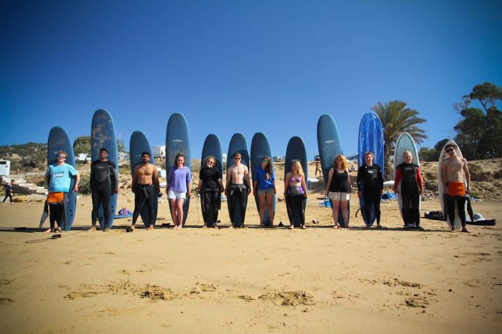 Surf instructor course in Morocco