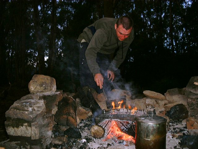 Campfire cooking Flickr CC image from Tasmania by timparkinson