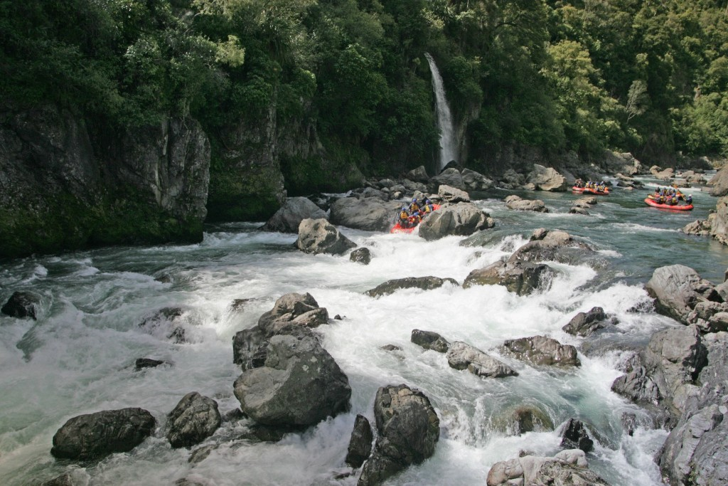 The best day rafting trips in New Zealand