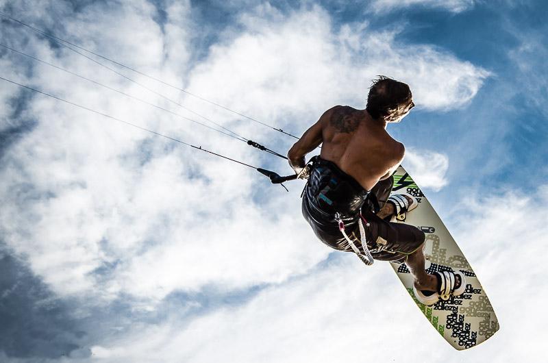 Diani beach kitesurfing in Kenya flickr image by Loupiot77