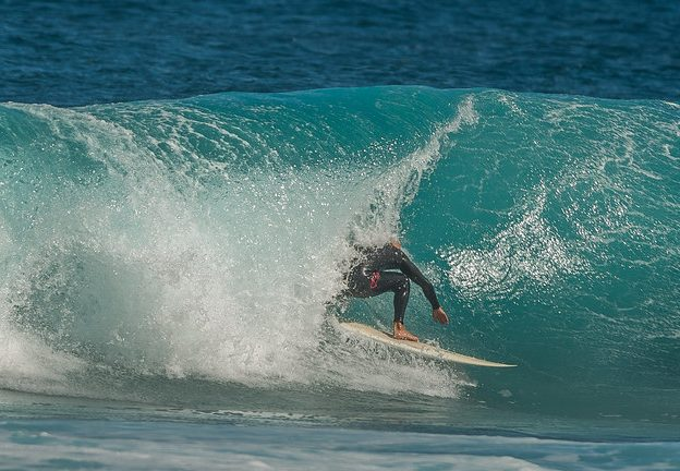 Best Canaries surfing for experts: Top 11 Canary Islands surf spots Corralejo in Fuerteventura Flickr CC image by Bengt Nyman