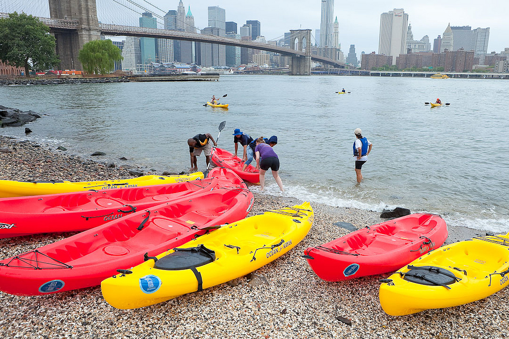 Kayaking in New York flickr image by ceonyc