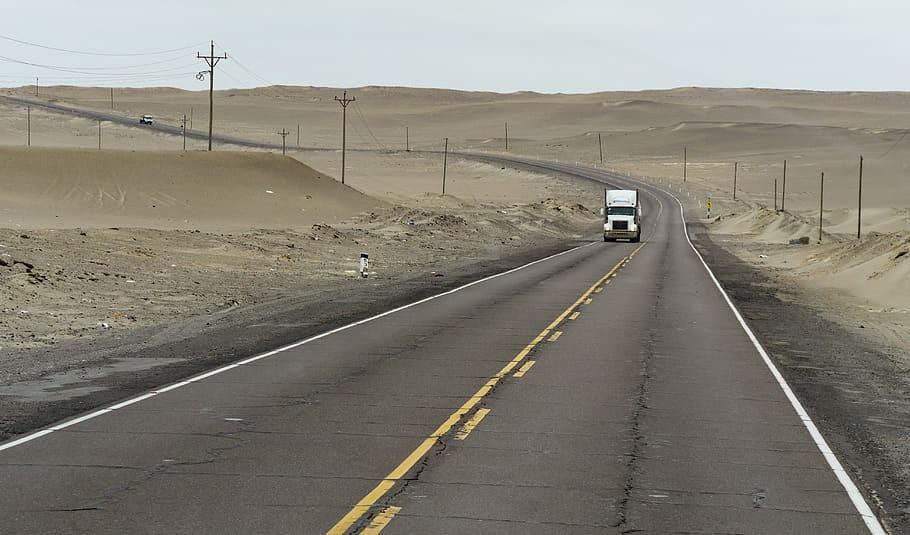 Panamericana highway one of the best overland routes to drive to Machu Picchu Pxfule royalty free image of atacama, Peru