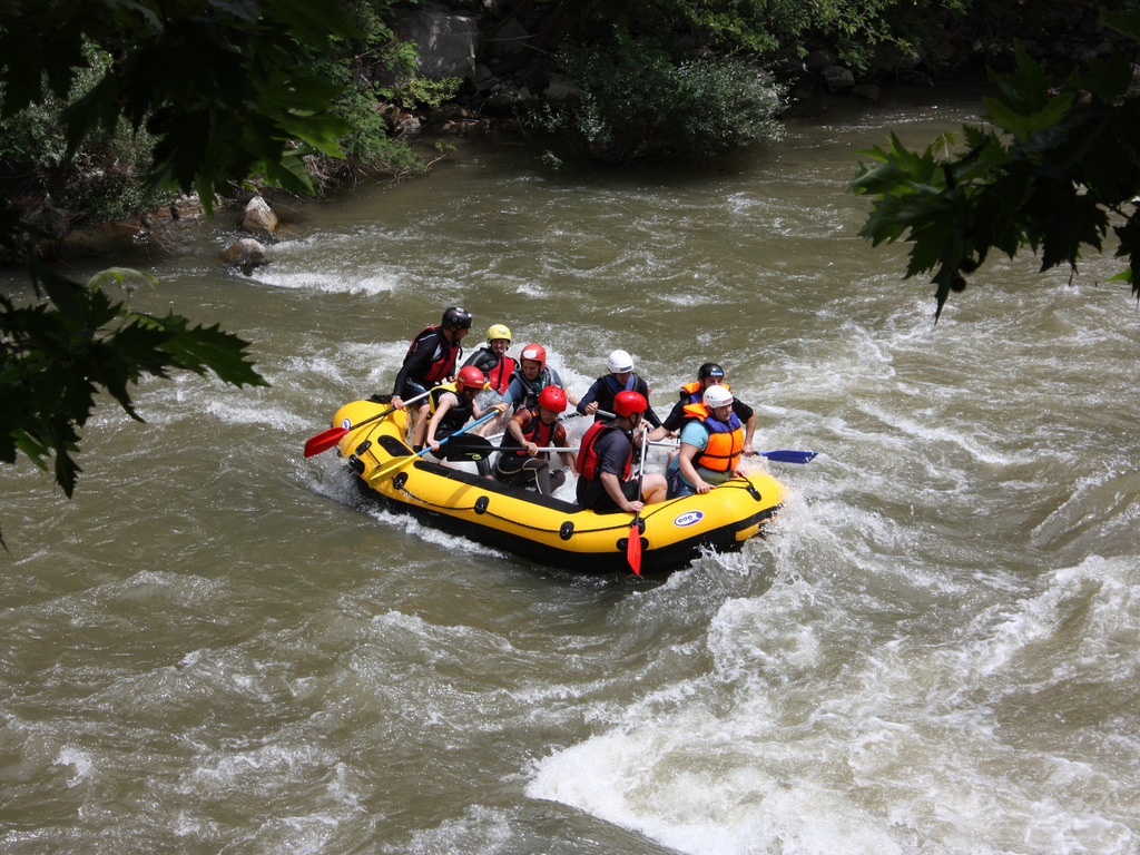 The best day rafting trips in New Zealand flickr image by Klearchos Kapoutsis