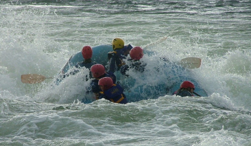 The best day rafting trips in New Zealand flickr image by PeterJBellis