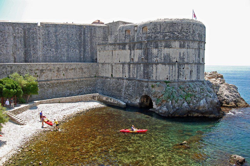 Top 5 Croatian kayaking destinations Best Croatia kayak holidays Flickr CC image of Dubrovnik by P Gonzales