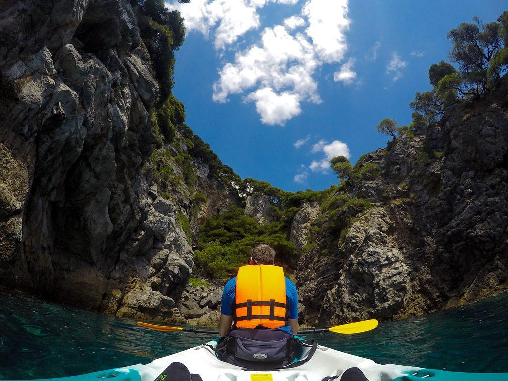 Top 5 Croatian kayaking destinations Best Croatia kayak holidays Flickr CC image of Kolocep by Makitdev