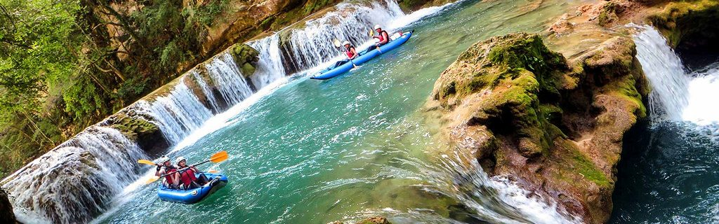 Top 5 Croatian kayaking destinations Best Croatia kayak holidays Flickr CC image of Mreznica by Raftrek Adventure Travel