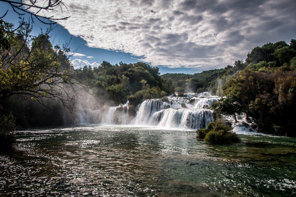 Top 5 Croatian kayaking destinations Best Croatia kayak holidays Flickr CC image of krka by Kamil Porembiński