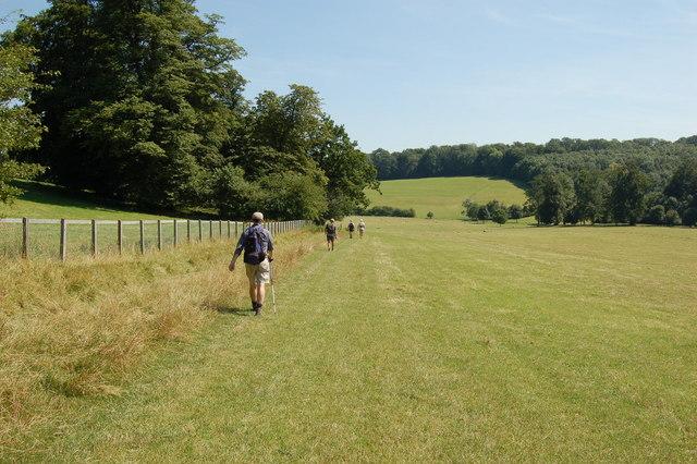 Trekking holidays in the UK Wikimedia image by John Sparshatt