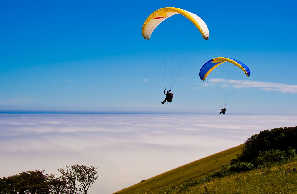 List of adventure sports - paragliding - flickr cc image by Steve Slater