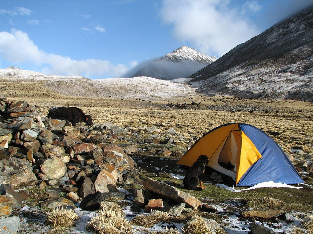 tibet trekking holidays - Flickr CC image by McKay Savage