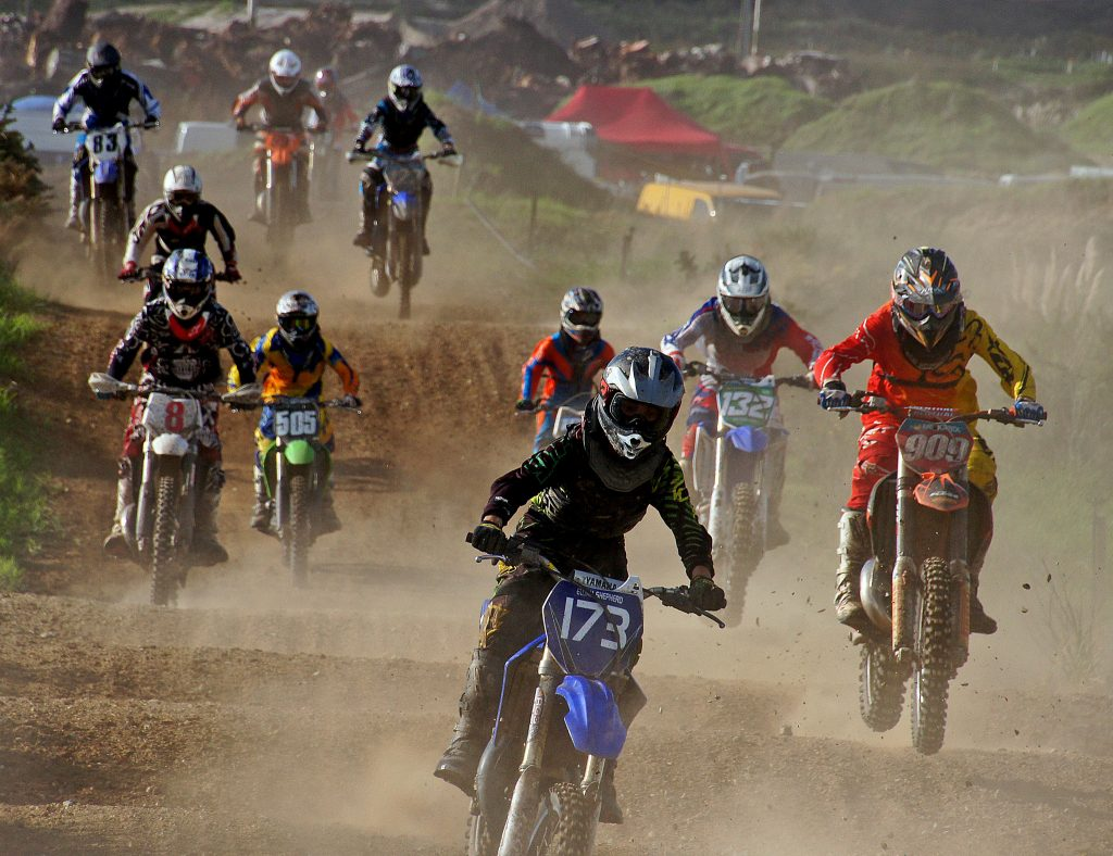 types of extreme sport - motorcross - Flickr CC image by Bernard Spragg. NZ