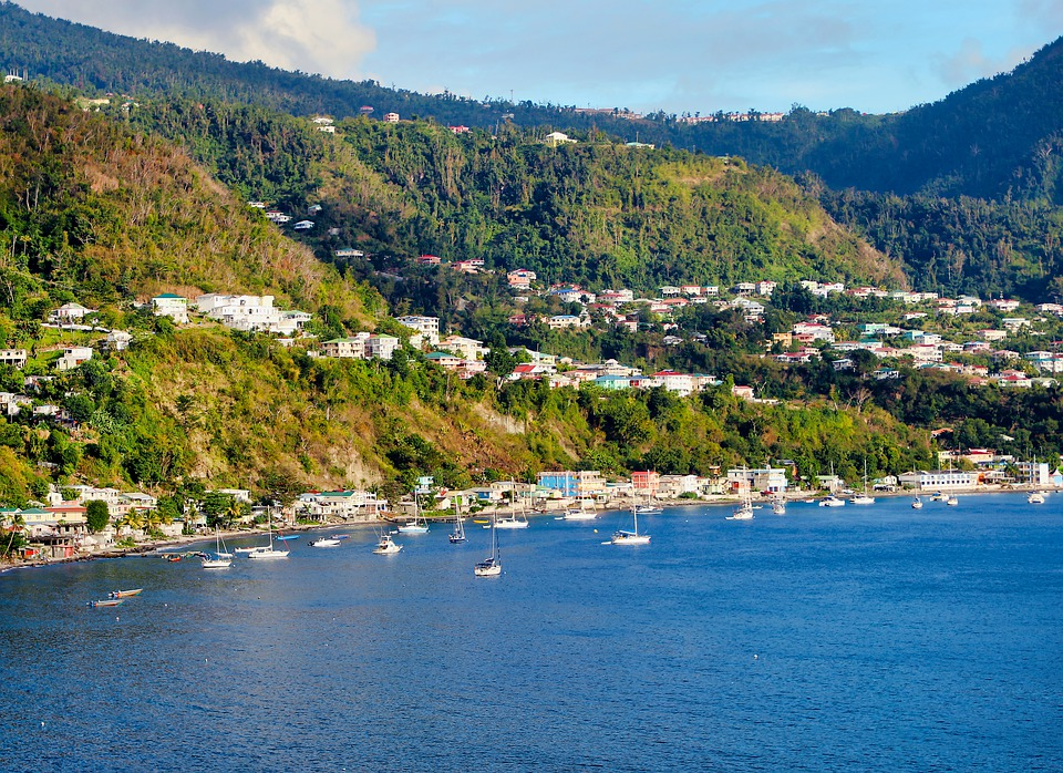 11 best ports in the West Indies Pixabay royalty free image of Dominica